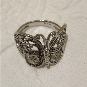 NEW | Sterling Silver Butterfly Ring